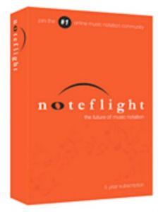 HAL LEONARD NOTEFLIGHT Notation Software 5 Year Premium Subscription