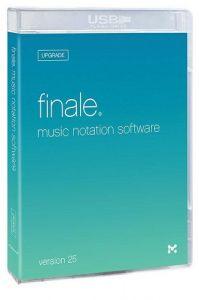 FINALE FINALE Box Upgrade Version 25, Usb Drive