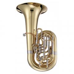 JUPITER 1680L Xo Series Professional Cc 4/4 Symphonic Tuba (4 Front Pistons + 1 Rotor)