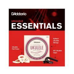 PLANET WAVES PW-UKEB-VM Ukulele Essentials Bundle (strings/capo/picks)