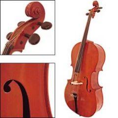 FUJIYAMA MODEL Fc80l Student Level Cello 1/2 Size