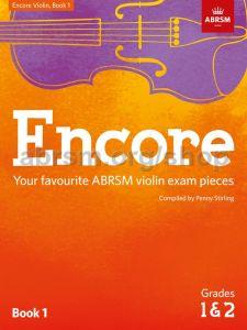 ABRSM PUBLISHING ENCORE Violin Book 1 For Abrsm Grade 1 & 2