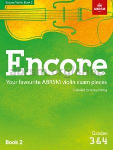 ABRSM PUBLISHING ENCORE Violin Book 2 Grade 3 & 4