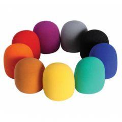 ONSTAGE ASWS58-C Foam Windscreen (9-color Pack)