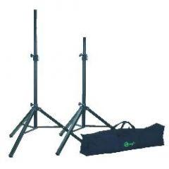 KOENIG & MEYER 21451 Aluminum Speaker Stands (pair) With Carry Bag