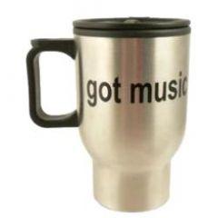 AIM GIFTS STAINLESS Steel Travel Mug Got Music