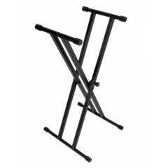 ONSTAGE KS7191 Double-braced Keyboard X-stand