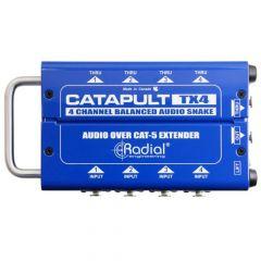 RADIAL CATAPULT Tx4 Cat5 4-channel Audio Snake