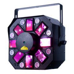 AMERICAN DJ STINGER-II Dmx 3-in-1 Led Effect Fixture W/ Laser Uv