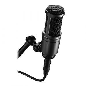 AUDIO-TECHNICA AT2020 Studio Condenser Microphone (cardioid)