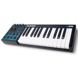 ALESIS V25 25-key Usb/midi Keyboard Controller With Pads