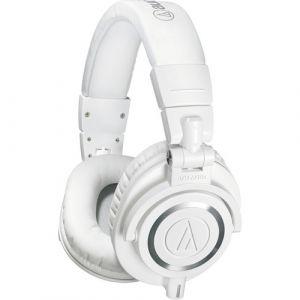 AUDIO-TECHNICA ATH-M50XWH Closed-back Dynamic Headphones (white)
