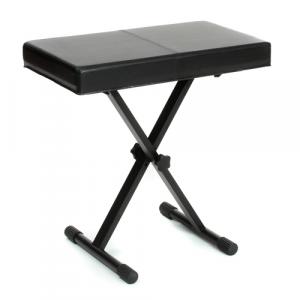 GATOR CASES GFW-KEY-BNCH-1 Adjustable Deluxe Keyboard Bench