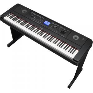 YAMAHA DGX-660B Ensemble Digital Piano, Black