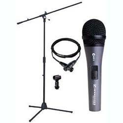 SENNHEISER EPACK Sennhieser Microphone Bundle W/boom Stand & 20