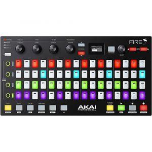 AKAI FIRE Grid Controller W/fl Studio Fruity Loops Edition Software