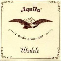 AQUILA NYLGUT NEW Nylgut Ukulele String Set, Soprano Regular High G