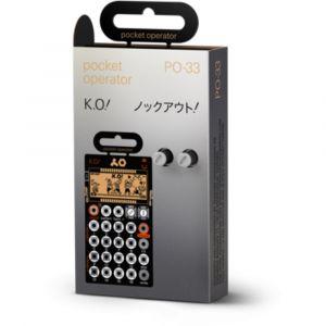 TEENAGE ENGINEERING PO-33 K.o! Pocket Operator Micro Sampler & Synth