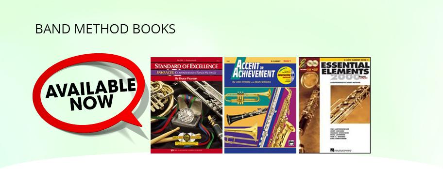Band Method Books