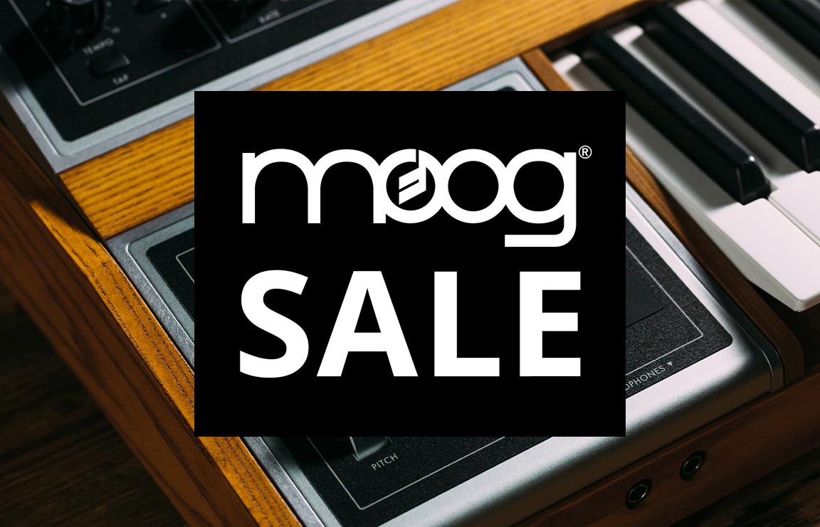 Moog Sale